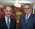 With the Lebanese consul Mr. Sami Nmeir